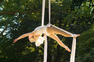 Photo of aerialist